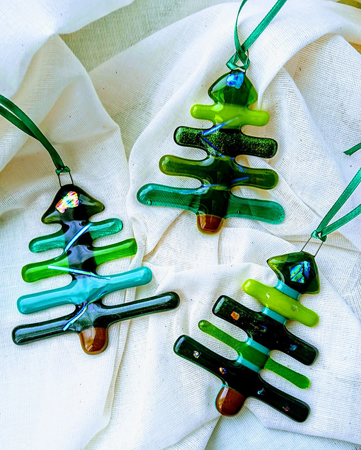 Joanna Watson - Fused Glass Christmas Trees