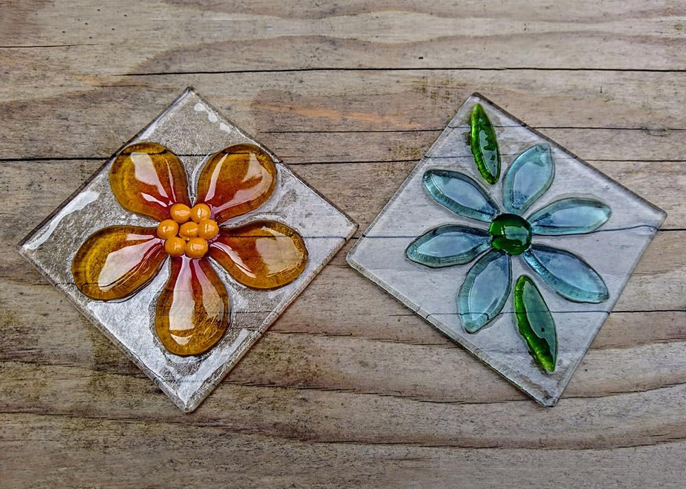 Joanna- Watson - Fused Glass Tiles