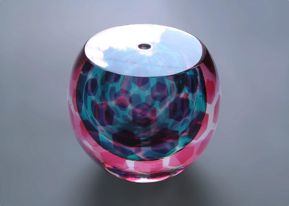 KT Yun - Red Aqua Sphere