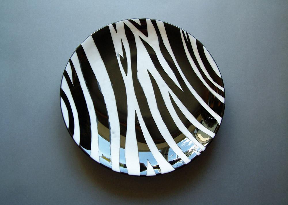 KT Yun - Safari Collection, Zebra Plate