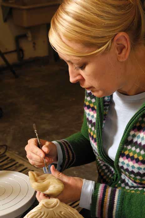 Philippa Beveridge glass artist