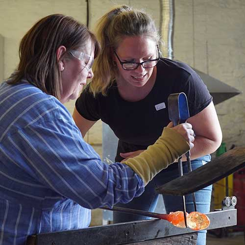 private glassblowing tuition